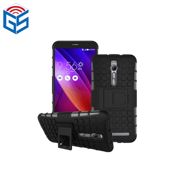 Tpu + Pc Shockproof Kickstand Phone Case Cover For Asus Zenfone 2 Ze551ml  Ze550ml Hybrid - Buy Case Cover For Asus Zenfone 2 Ze551ml,For Zenfone 2