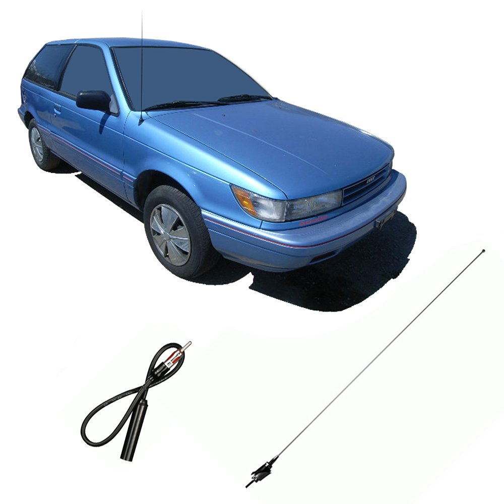 Get Quotations · Dodge Colt 1987-1992 Factory OEM Replacement Radio Stereo  Custom Antenna Mast
