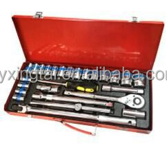 "26PCS 1/2"" Dr. Socket Set,mechanical socket set hand tools"
