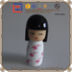Unique Cute Resin Japanese Kokeshi Doll 3D Models Toys For Kids