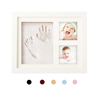 3D Newborn Baby Handprint And Footprint Clay Photo Frame Kit