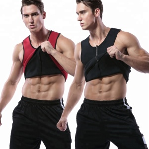 Hot Sales Men Gym Ultra Sweat Neoprene Slimming Vest,Neoprene Sauna Suit Fat Burning Belt
