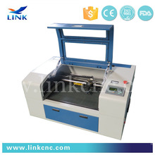 mini cnc laser cutting machine 4030 & laser machine rubber stamp cutting 400*300mm