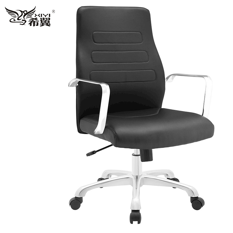 italy syncro swiviel shape office visitor meeting chair