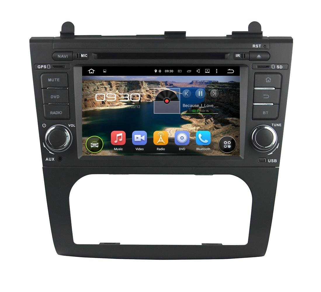 XTTEK 7 inch HD 1024x600 Multi-touch Screen in dash Car GPS Navigation System for Nissan Altima 2013 2014 2015 Quad Core Android DVD Player+Bluetooth+WIFI+SWC+Backup Camera+North America Map