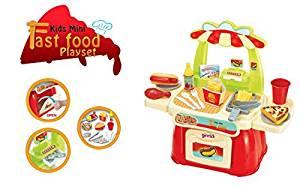 Ginzick Super Cute Kids Mini Fast Food Playset