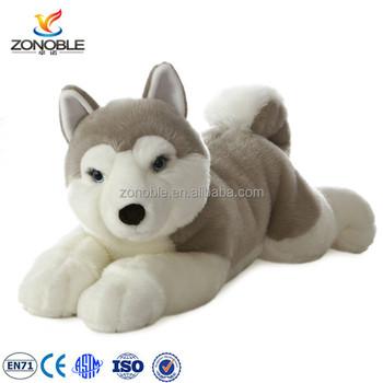 Plush Husky Stuffed Dog Puppy Dolls Animal Toys Custom Stuffed Toy