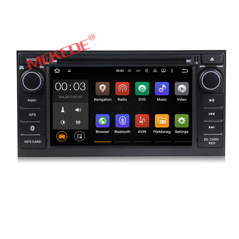 2 din android 7.1 car multimedia radio DVD player for Juke Almera Note Livina 2014 2015 2016 with 4G wifi GPS navi 2GRAM map