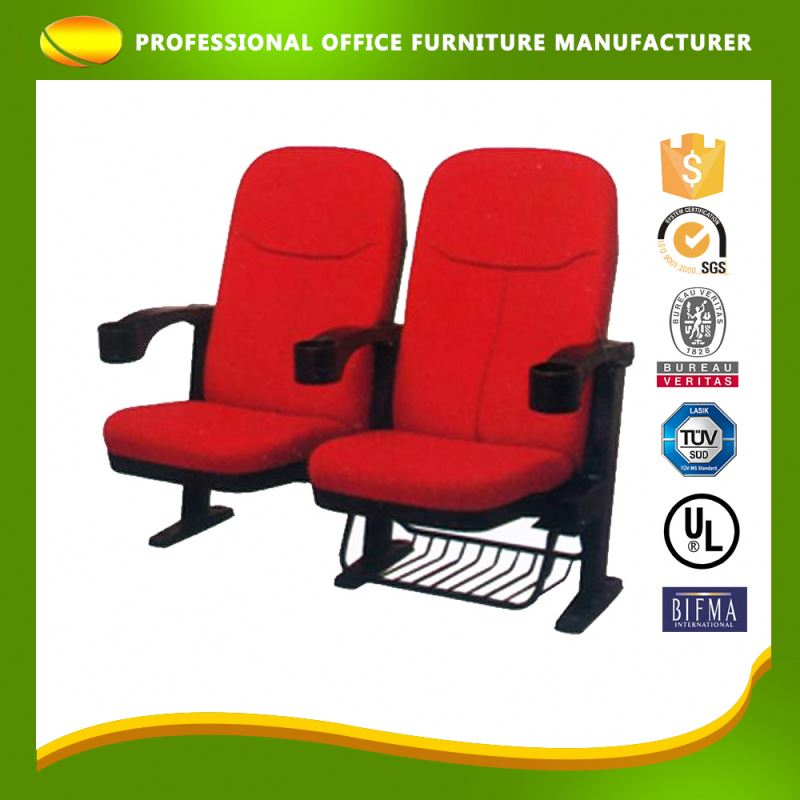 OEM Colorful Furniture Theater Luxury Venue Cinema Chairs Seats