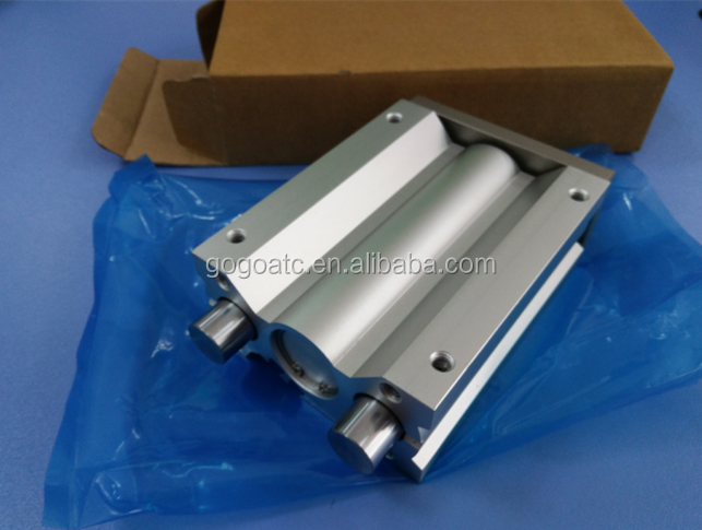MGP MGQ Air cylinder linear guide rail rod gas cylinders for sale
