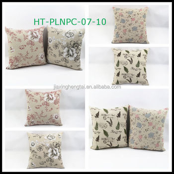 Christmas Cushions Large Sofa Cushion Custom Linen Print Whole Throw Pillows Decorative