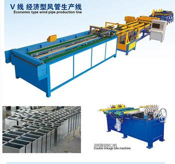Super Auto Duct Line 5; auto duct machine; duct forming machine
