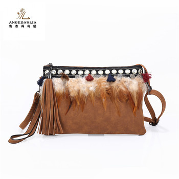 2019 New Fashion Nubuck Leather Zipper Wallet Women's Long Purse