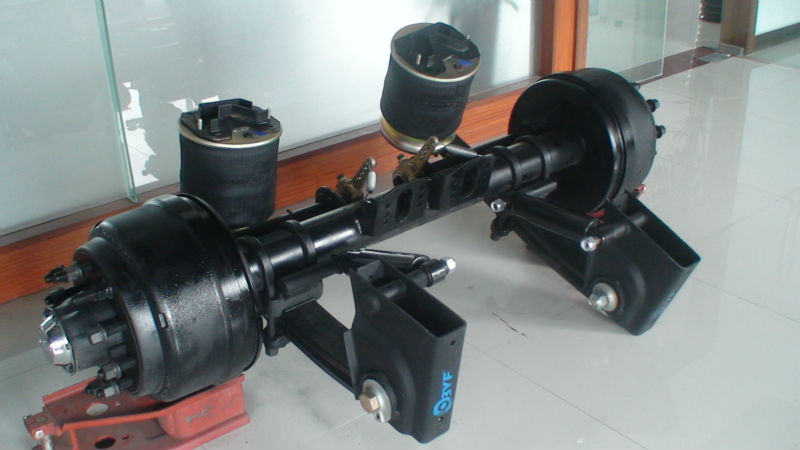 Byf Semi Truck Air Bag Suspension With Lift Trailer Heavy Product On Alibaba