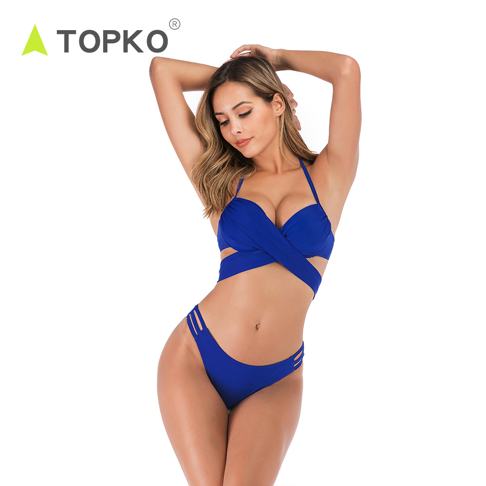 TOPKO Brand new swim ladies <strong>swimsuit</strong> women <strong>sexy</strong> extreme micro bikini for beach wear