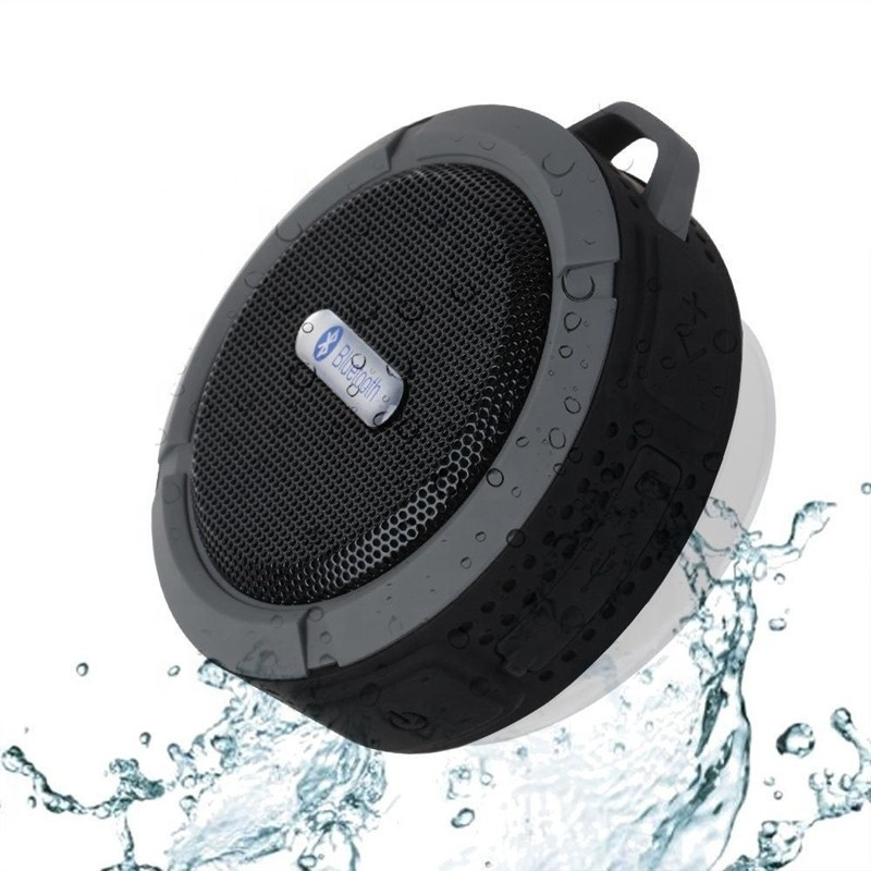 high quality Blue tooth Active Outdoor Sport Portable C6 Waterproof wireless car <strong>Speaker</strong> on wall