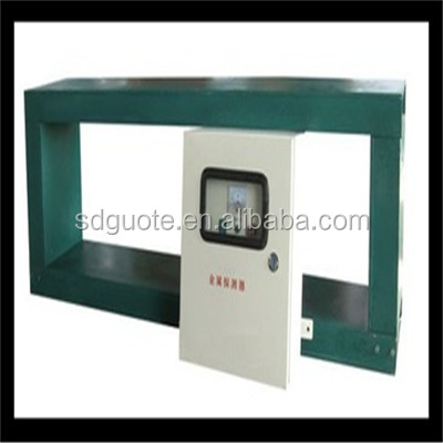 China beneficiation precious metal detector for packing foods