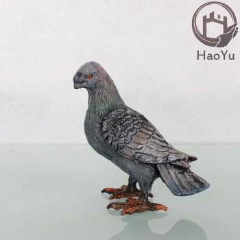 Cast Iron Pigeon Sculpture For Garden Decoration