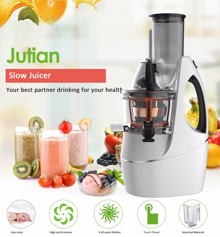 Whole Fruit Cold Pressed Slow Juicer In Stainless Steel : High Performance Bpa Free Big Mouth Cold Press Commercial Stainless Steel Portable Kuvings Whole ...