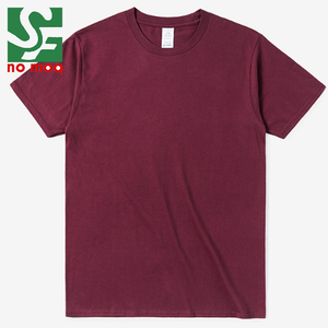 High quality factory price 100% cotton men overseas blank t shirts