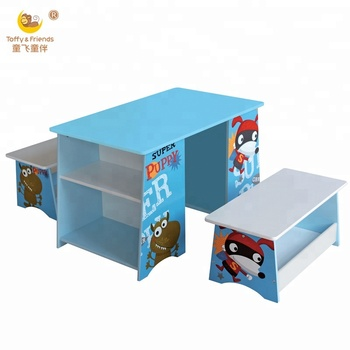 Awesome Wooden Kids Writing Table And Benches Set Buy Kids Wooden Study Desk Kids Wooden Table And Bench Kids Study Table Product On Alibaba Com Creativecarmelina Interior Chair Design Creativecarmelinacom