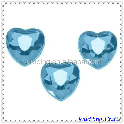 Table Scatter Heart-shaped Acrylic Diamond For Themed Wedding Decoration