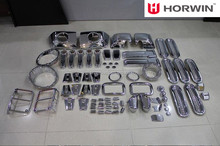 Chrome auto accessories set for Jeep Jk Wrangler