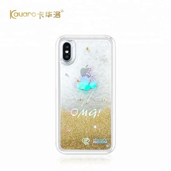 Glitter Liquid Hard Phone Case Cover