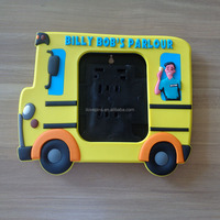 personalized parlour bus shaped photo frame