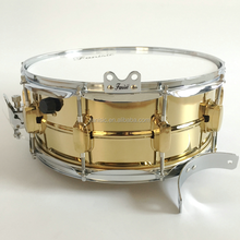 Hammered copper shell snare drum