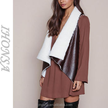 High-Fashion-Brown-Suede-Faux-Shearling-Draped.jpg 350x350.jpg e5f2a6f05b73b