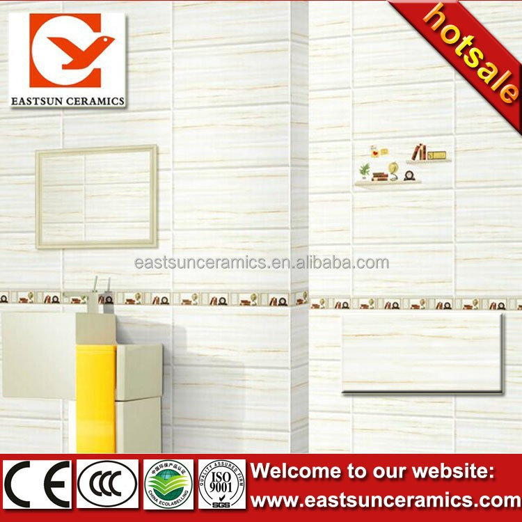 250X400mm ceramic bathroom wall tile design