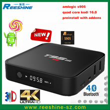 China Top Selling products amlogic s905 t95m tv streaming box DDR3 2gb 8GB smart stream t95m