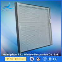 Energy saving horizontal blinds in sliding glass doors with CE,SGSS,INMETRO