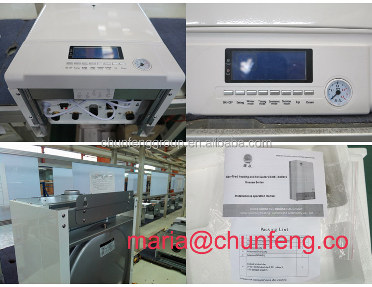 Wall-hung Gas Boiler for Heating and Hot Sanitary Water