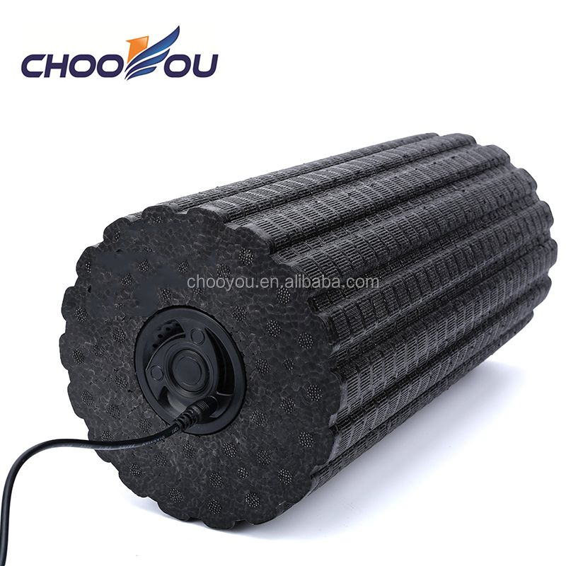 Wholesale new arrive USB Electric EPP Yoga Vibrating Foam Roller