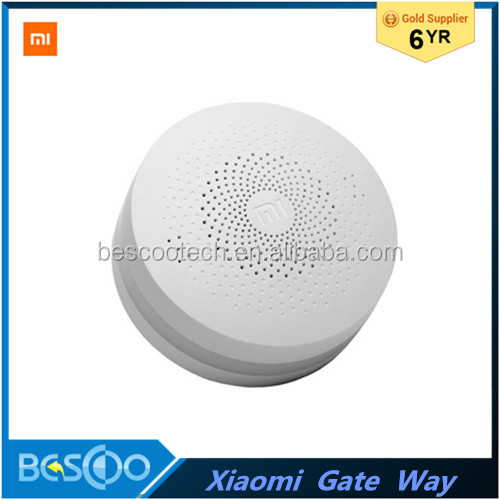 100% New Original Xiaomi Intelligent Web Wifi Radio and Ringbell Smart Gateway Smart Home Automatic for Mi Home Suite