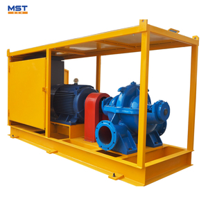 Split case water pump flood irrigation supplies