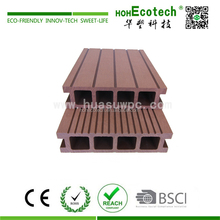 30cm joist outdoor installed wpc decking no glue low creep recycle wood patio flooring