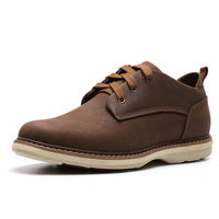 American Style Men Casual Shoes Genuine Leather Chukka Boots