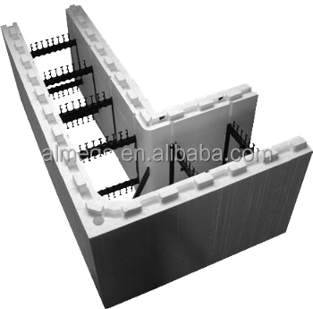 Icf molding machine insulated conceret foam buy icf for Icf foam