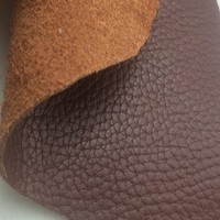 Real cow top grain leather for shoes