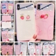 Pink Style Mirror Phone Case for iPhone X Tempered Glass IMD Printer Girl Back Cover Accessories Cases 7 8 Plus Xs Max Xr 6s