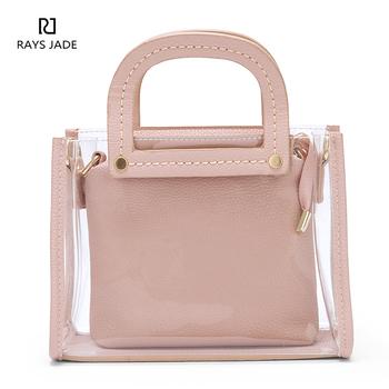 09c56c39deb4 Stylish Designer Clear Pvc Leather Beach Tote Bag - Buy Beach Bag ...