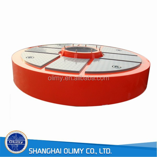 marine gel coat surface fiberglass buoy frp floating buoy