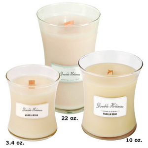 decoration Scented color Soy Wax Wooden wick Glass Candle