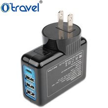 phone accessories mobile charger 4-port usb adapter universal phone charging stations for tablet pc