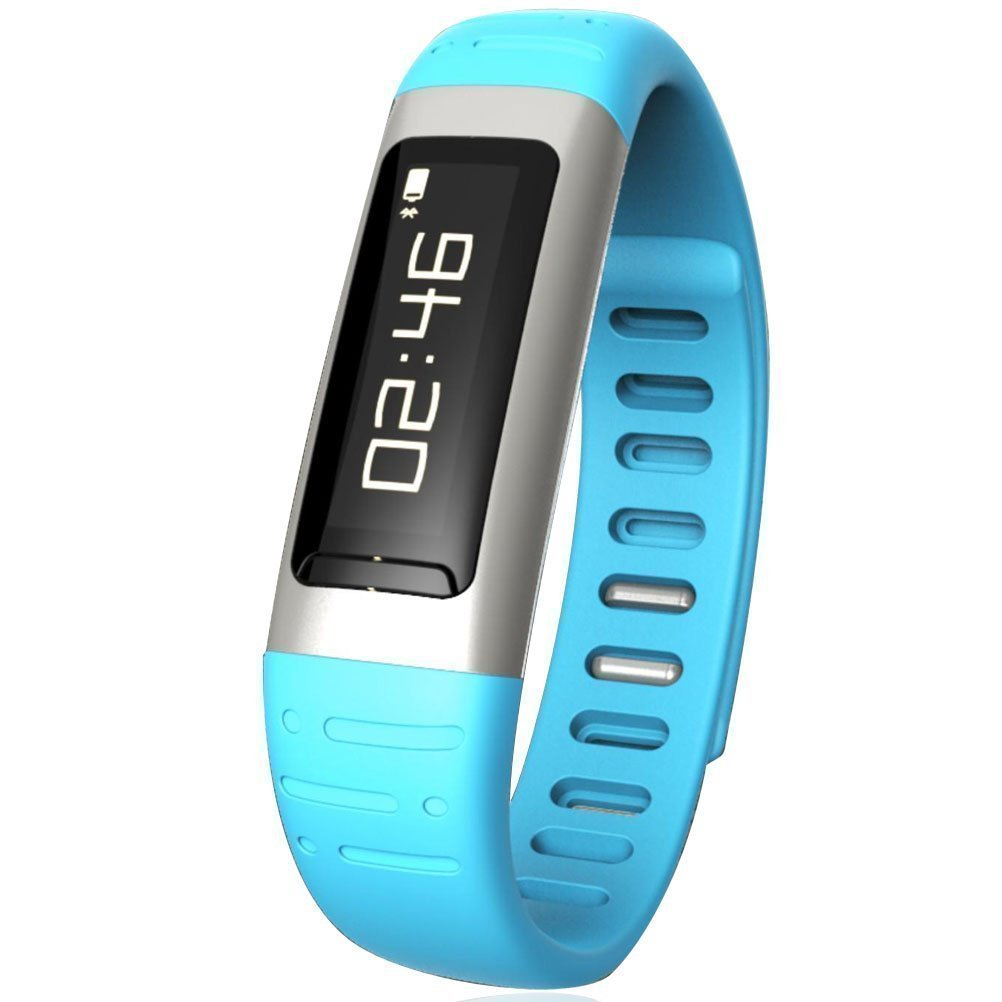 Efanr 2015 Waterproof Bluetooth Smart Watch Bracelet Exercise Smartwatch Running Wristbands Sports Watches Luxury Fitness Health Tracking System Wrist Watch Women Men Cell Phone Mate Partner Pedometer Step Walking Counter Activity Tracker Monitoring Altimeter Thermometer Anti-Lost WIFI Clock