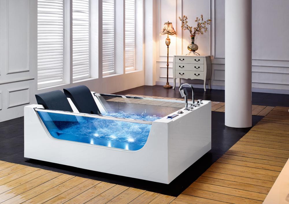 HS EB377 French Bathtubs For Two Person/double Apron Bathtub