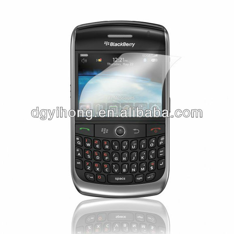 Top sale fingerprint resistant matte screen protector for blackberry mobile phone
